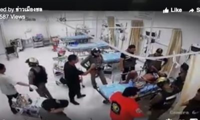 A volunteer rescuer exacts revenge for a friend in a Chon Buri Hospital – VIDEO | Thaiger