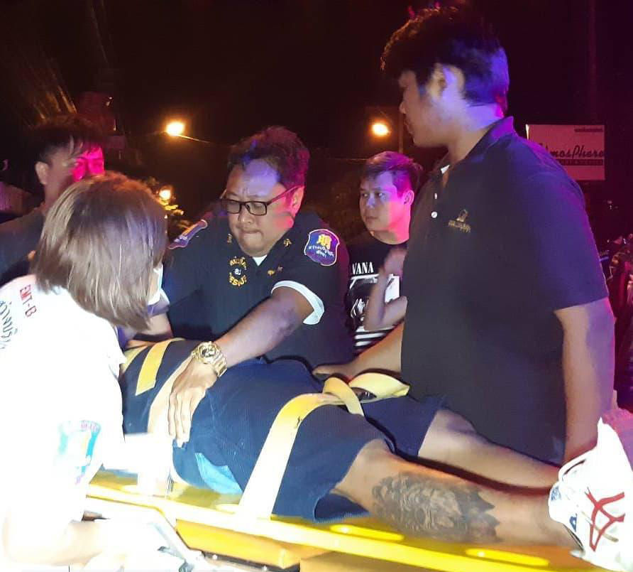Drunk driver plunges into parked cars in Pattaya, one person seriously injured | News by Thaiger