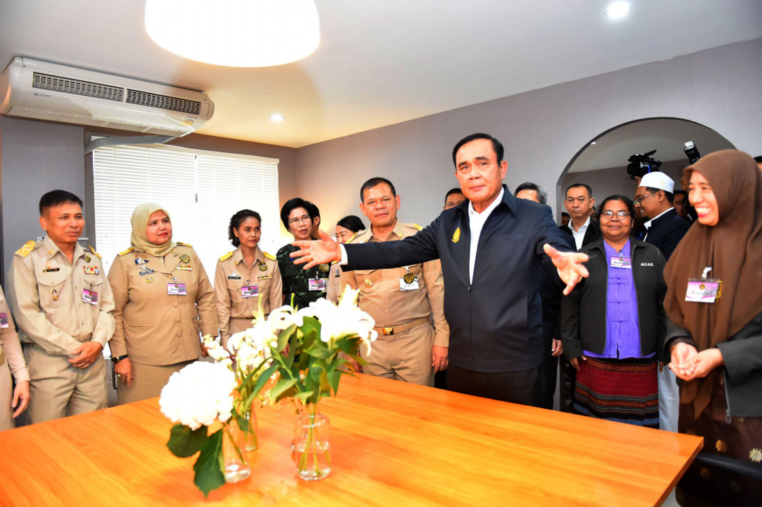 Thai PM visits the South amid tight security   News by Thaiger