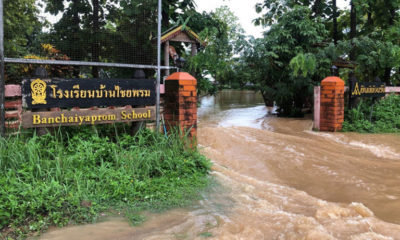 'Wipha' whips up some storms and floods around Chiang Mai | The Thaiger