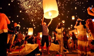 Lanterns grounded in Chiang Mai for Loy Krathong world record attempt | The Thaiger
