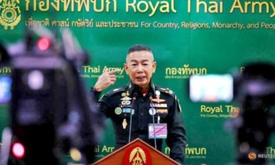Thai Army chief writing a thesis about the spread of 'fake news' | Thaiger