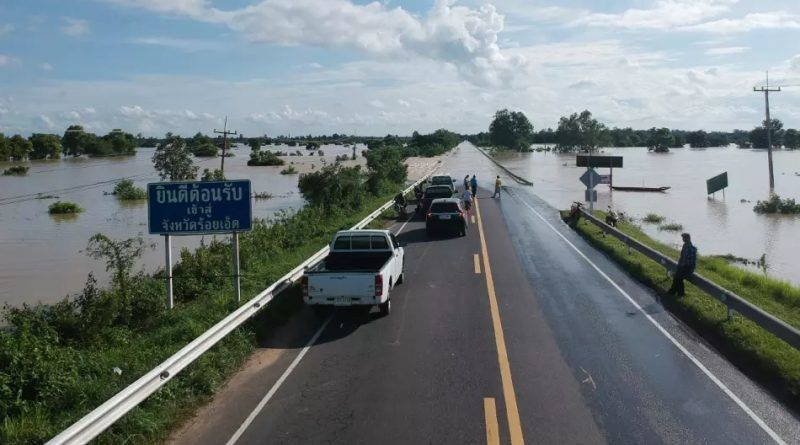 Flood waters reach Roi Et in Thailand's north-east | Thaiger