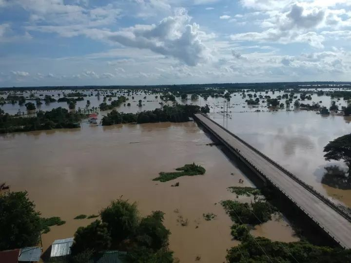 Flood waters reach Roi Et in Thailand's north-east | News by Thaiger