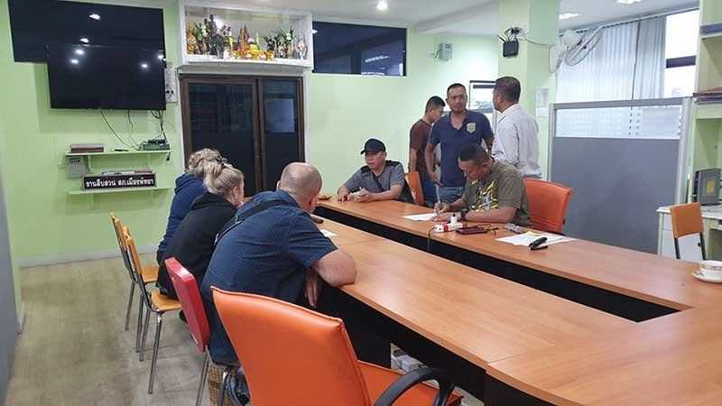 Three Russians arrested over alleged property fraud in Pattaya | Thaiger