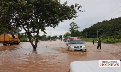 Rescuers evacuate residents from Phitsanulok villages in north central Thailand | The Thaiger