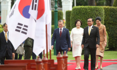South Korean President in Thailand to sign trade agreements | Thaiger