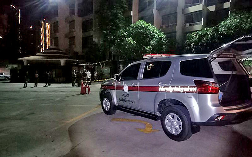 Police shoot and kill chef in North Pattaya hotel car park