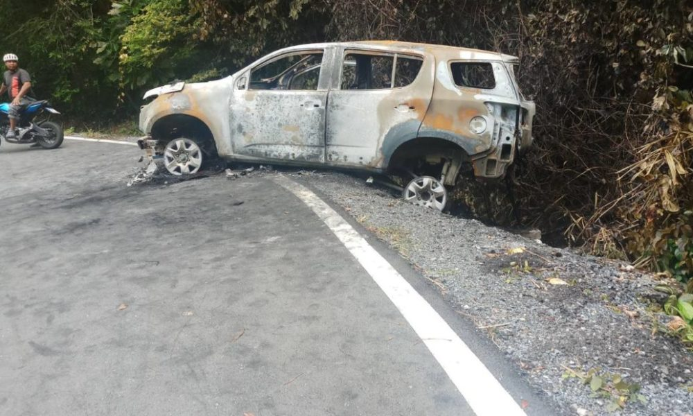 British woman survives crash and burnt out car in Phuket