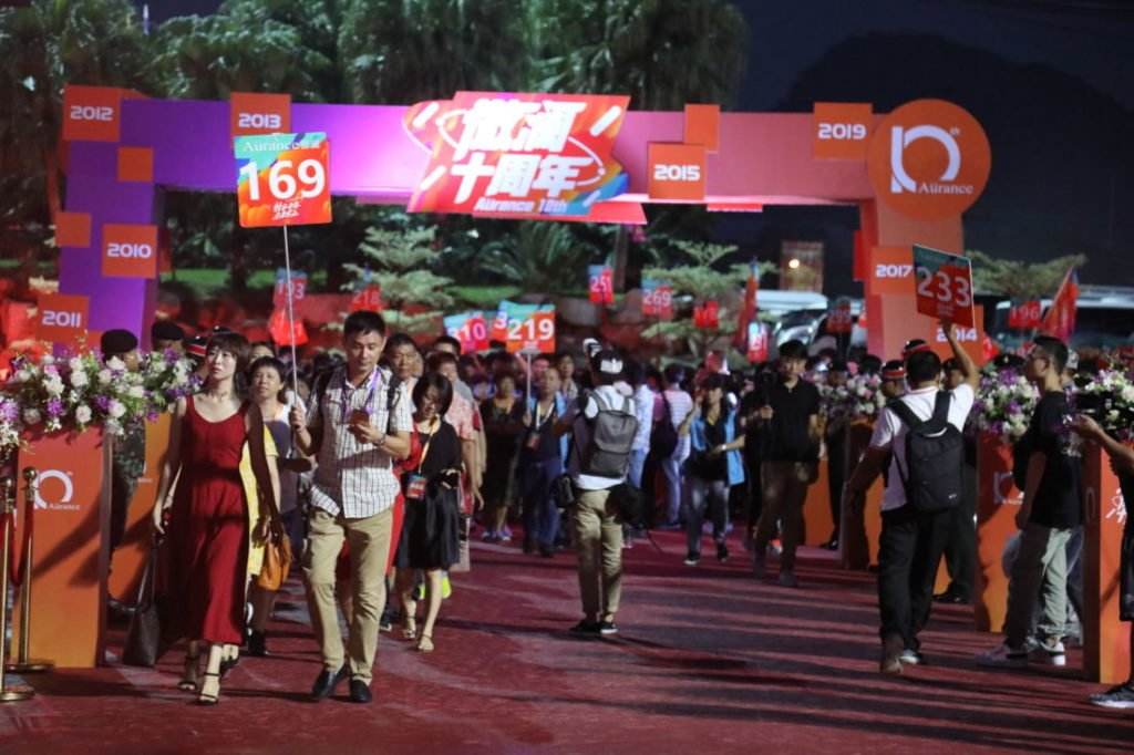 Chinese company rewards 10,000 employees with trip to Pattaya | News by The Thaiger
