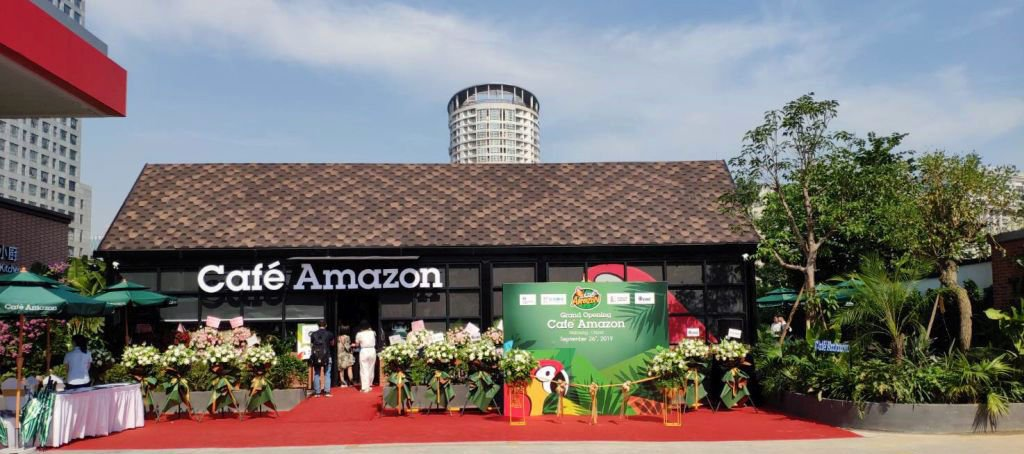Cafe Amazon brewing up a cup of coffee in China   News by Thaiger