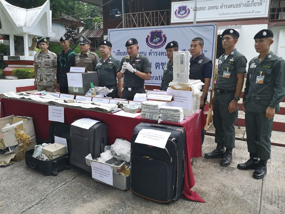Police arrest Chiang Rai woman with thousands of counterfeit US$100 bills   News by Thaiger