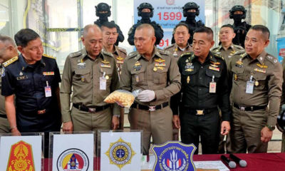 Large heroin bust announced in Bangkok | Thaiger