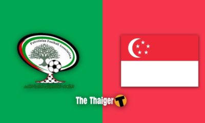 Live broadcast for Singapore – Palestine World Cup qualifier tonight | The Thaiger