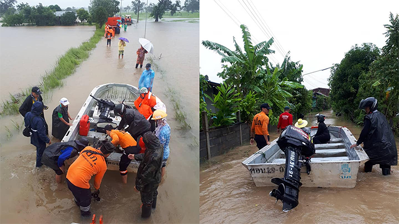 Torrential rain in Thailand's north and north-east from Podul | News by Thaiger