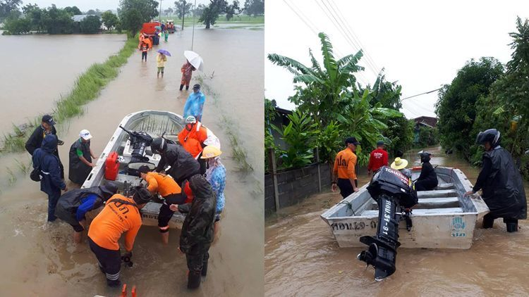 New storm brings more rain to Thailand's north-east   The