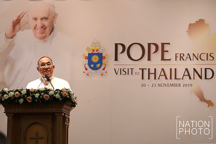 Pope Francis confirms his 'pilgrim of peace' visit to Thailand in November | News by Thaiger