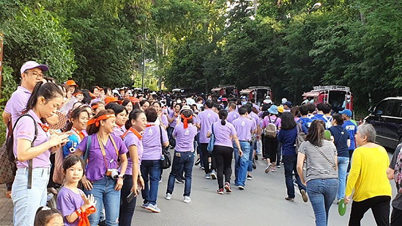 30,000 uni students take the long and winding road up Doi Suthep | News by Thaiger