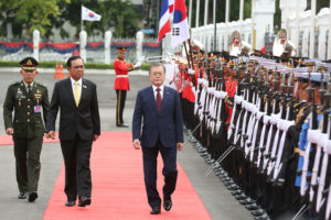 South Korean President in Thailand to sign trade agreements | News by Thaiger