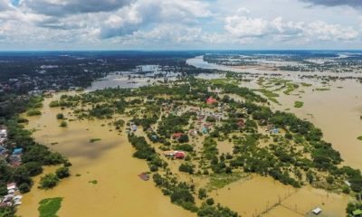 Many parts of Ubon Ratchathani remain under water | Thaiger