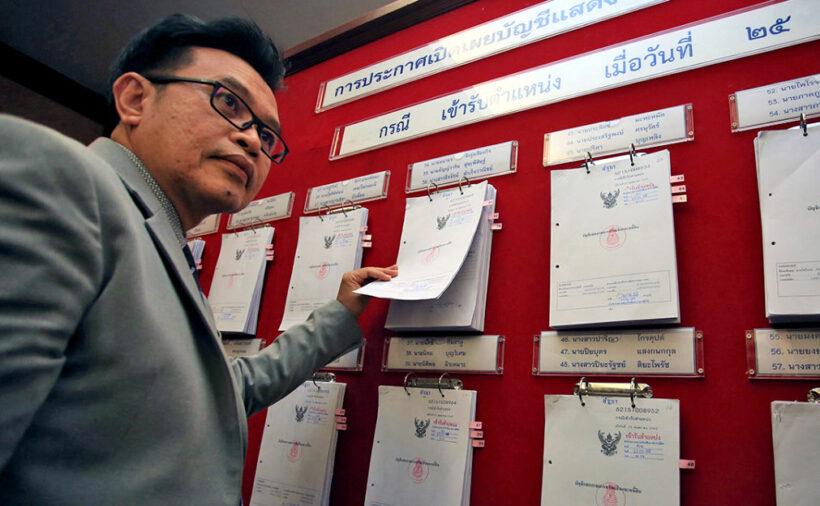Thai MP rich list