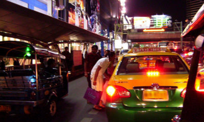 Police looking for Bangkok taxi driver who stole 3.6 million baht of valuables   The Thaiger