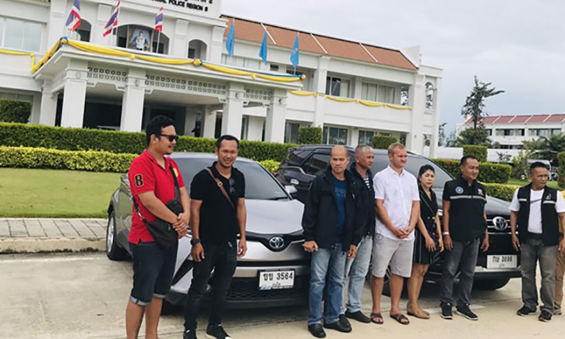 Police return four cars to victims of rental scam