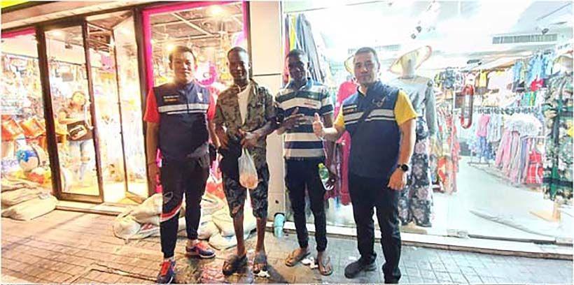 Immigration police conduct spot-check of Nana area of Bangkok   Thaiger
