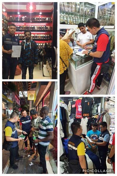 Immigration police conduct spot-check of Nana area of Bangkok   News by Thaiger