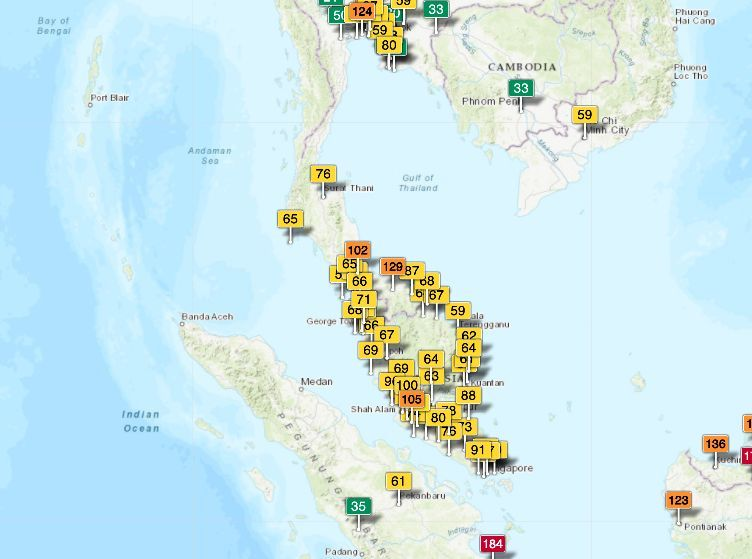 Indonesia's forest fires causing air pollution in southern Thailand   News by Thaiger