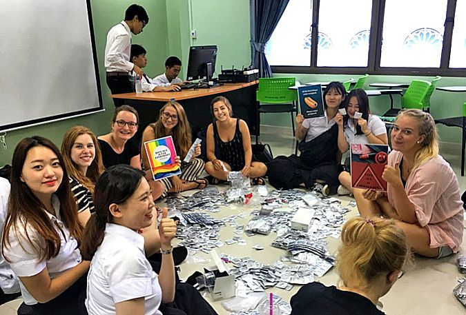 Phuket university's safe-sex campaign attracts 390 volunteers | News by Thaiger