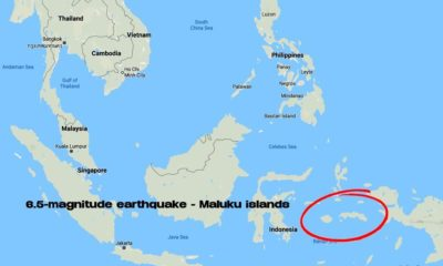 East Indonesian islands hit with strong 6.5 magnitude quake   Thaiger