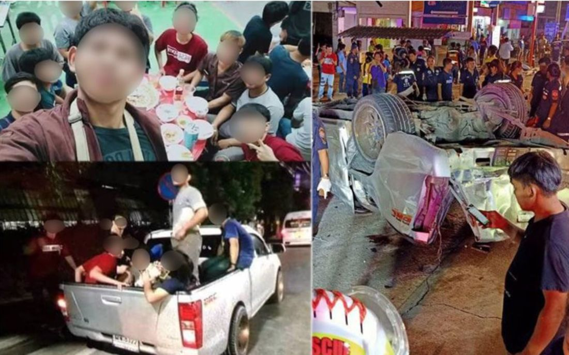 17 apprentice students killed in Samut Prakan crash, Thailand | News by Thaiger