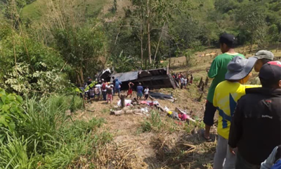 15 killed after truck plummets into ravine in T'boli, Philippines | Thaiger
