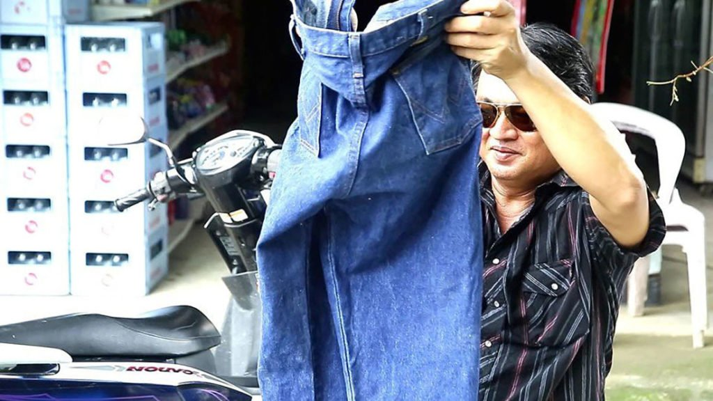 Jeans for sale, yours for 200,000 baht | News by Thaiger