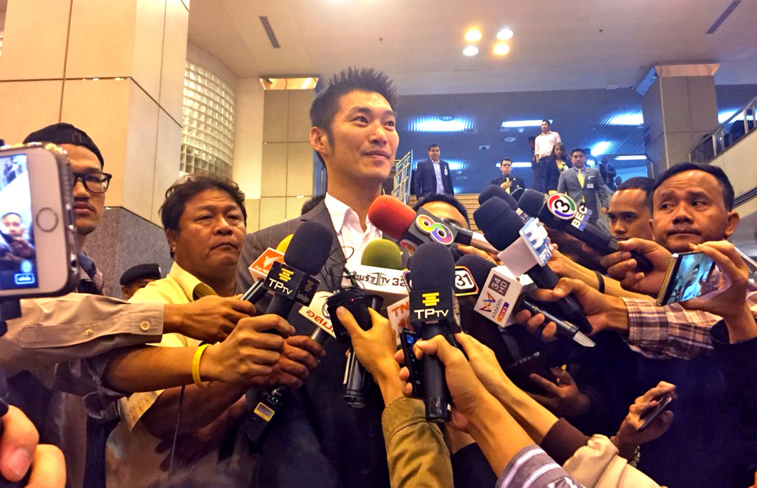 Thanathorn dares Prawit to have a face-to-face meeting over NY protests | News by Thaiger