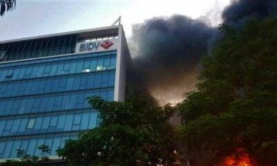 Cháy lớn ở Hải Phòng | The Thaiger