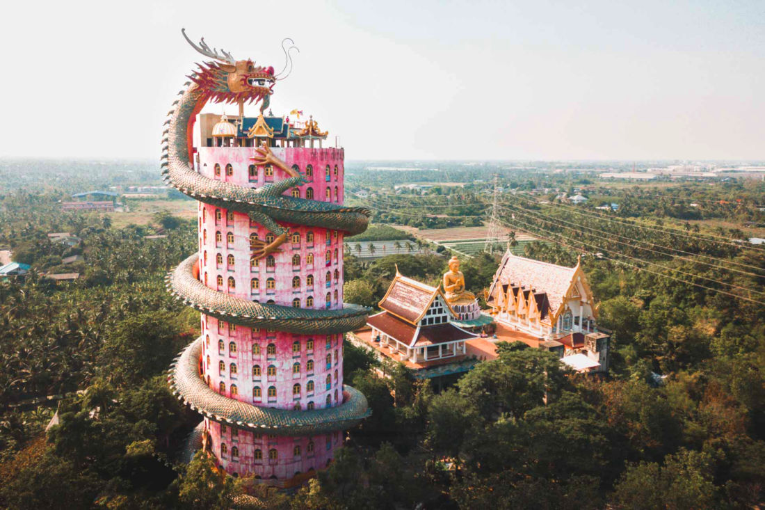 Welcome to Wat Samphran, unlike any Thai temple you've seen | The ...