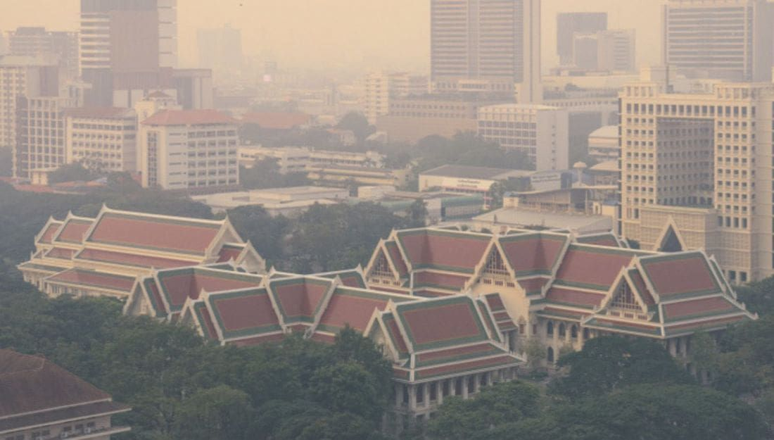 Dangerous air quality returns to Bangkok - Readings up to '233' today | News by Thaiger