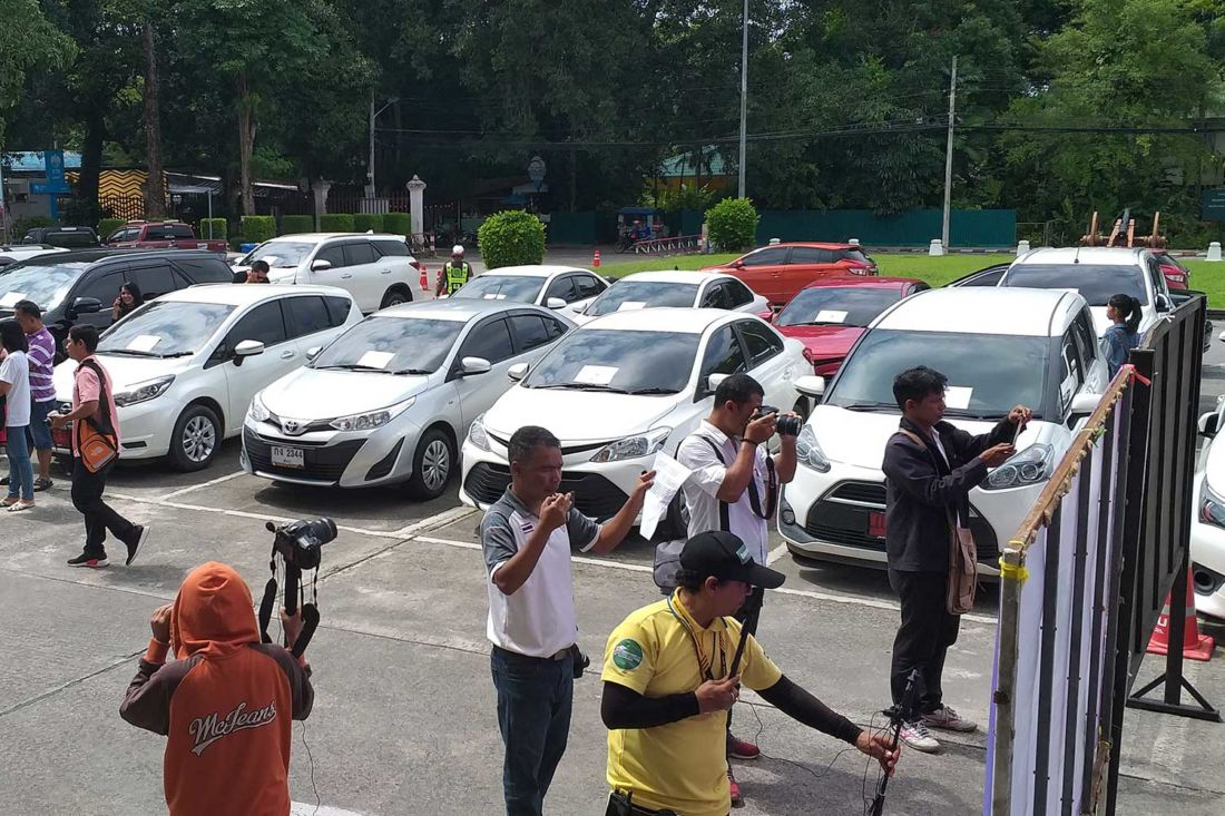 Car rental scam busted, gang leaders arrested in Phuket and Trang | News by The Thaiger