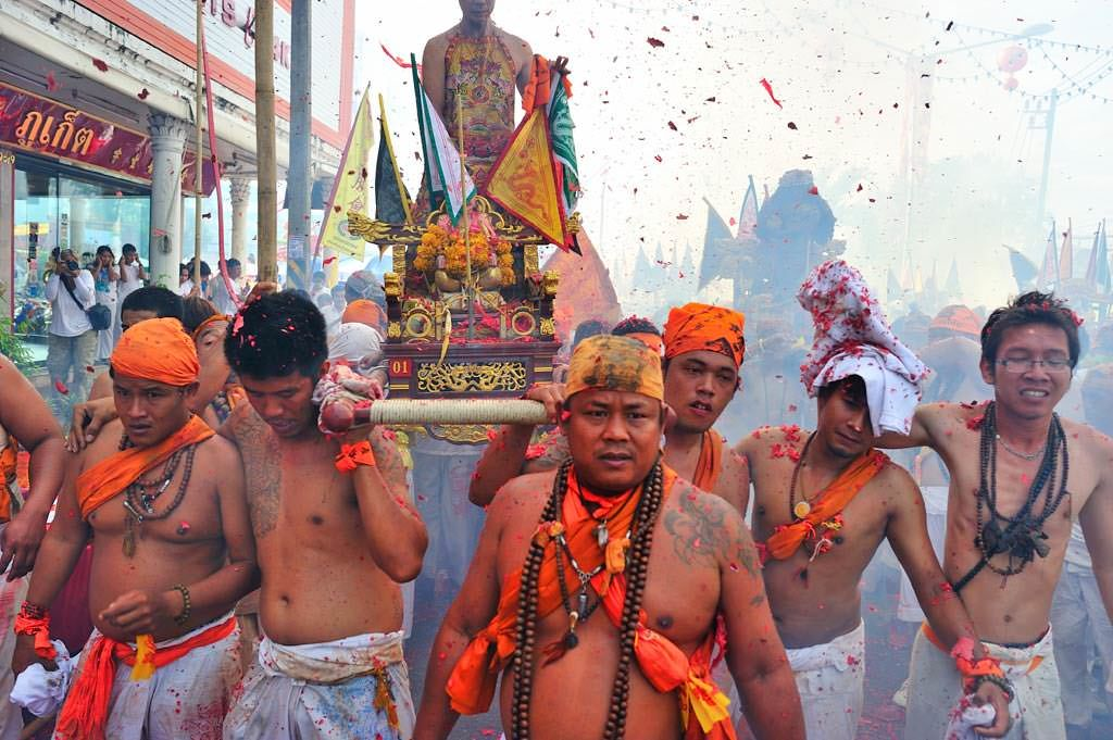 Chinese tourists surge during Phuket's vegetarian festival   News by Thaiger