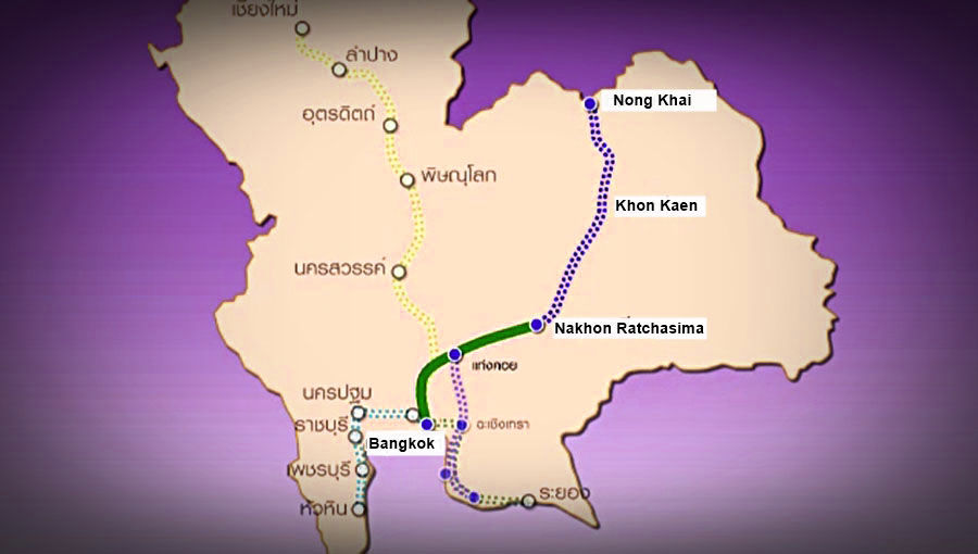 Thailand's high-speed railway will carry first passengers in 2023 | News by The Thaiger
