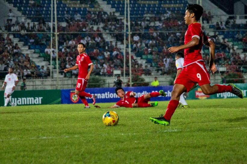 ဂ်ပန္လက္ေရြးစင္အသင္းဟာ၂၀၂၂ ေျခစစ္ပြဲစဥ္အျဖစ္ျမန္မာအသင္းနဲ႔ ရင္ဆိုင္ ရန္ နာရီပိုင္းအလို။ | News by Thaiger
