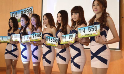 Phuket's most expensive car number plate is '9999' costing more than 700K   The Thaiger
