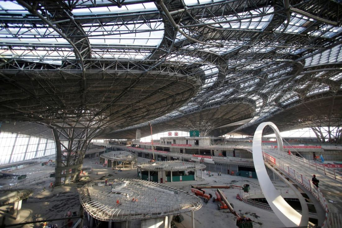 China opens mega airport in Beijing ahead of country's 70th anniversary | News by Thaiger