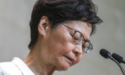 Chief Executive of Hong Kong insists she's going nowhere | The Thaiger