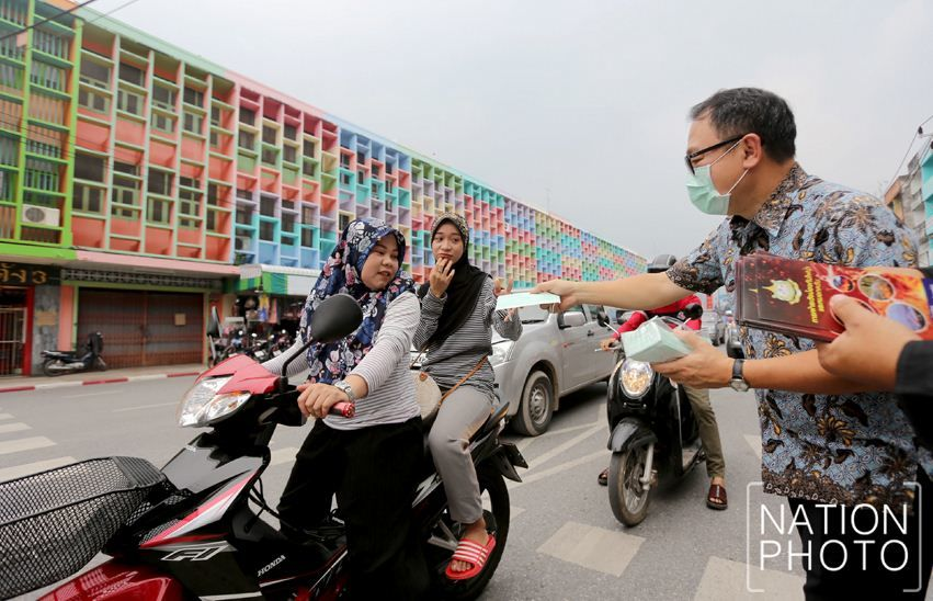 Southern Thailand smog well above safe levels