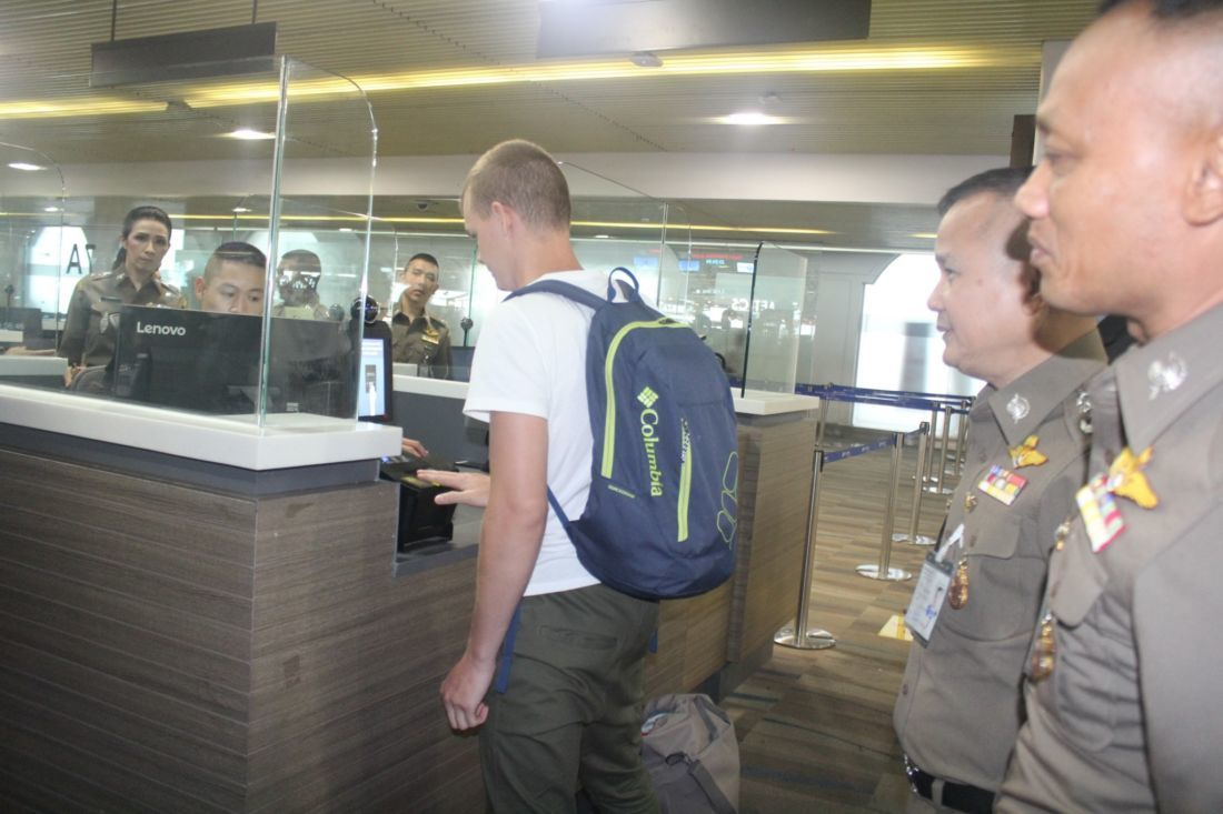 Drug dealer on the run for 20 years arrested by Thai immigration