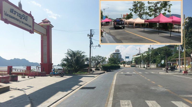 Illegal market tents removed in Prachuap Khiri Khan | News by Thaiger