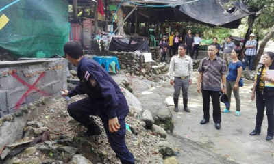Five days to move out – restaurant encroaches on Nakhon Si Thammarat creek | Thaiger